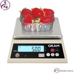 Balanza de trabajo S3 15 kg (1 gramo)