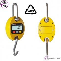 Bascula de gancho de Aluminio 30 kg (10 gramos)