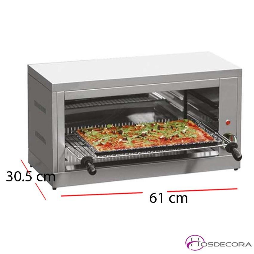 Salamandra Grill con Parrilla 45x 25 cm. ST450 A