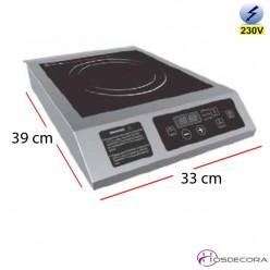 Cocina de inducción control digital 3.5kW