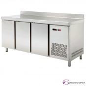 Mesa refrigerada fondo 60 desde 149 a 254 cm
