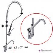 Grifo de ducha monomando 1 orificio 34-545115