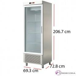 Nevera con frío 1 puerta cristal 468 W- ARCH-601V