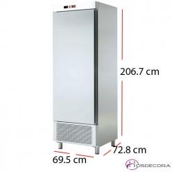 Congelador acero Inox 880W 600 litros