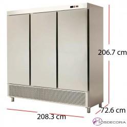 Cámara refrigerada 3 puertas 759W 1800 litros