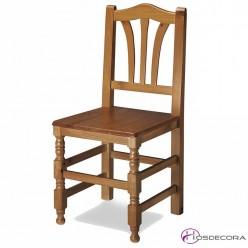 Silla de Madera asiento de madera MR10
