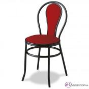 Silla para bar mr101 asiento madera