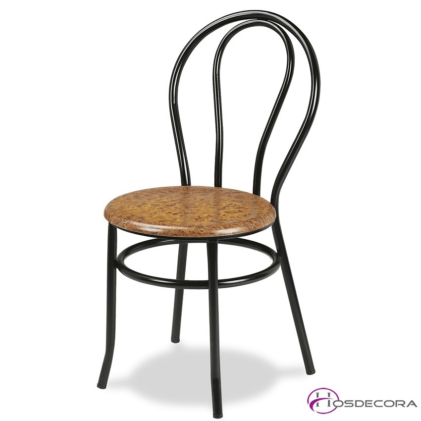 Silla para bar mr101 asiento rejilla metalica