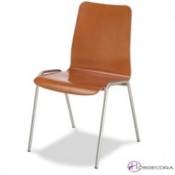 Silla para bar mr101 asiento rejilla metalica
