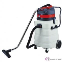 Aspirador industrial para polvo y líquido 90L 3000W