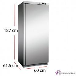 Armario congelador acero inox de 360 litros 200W