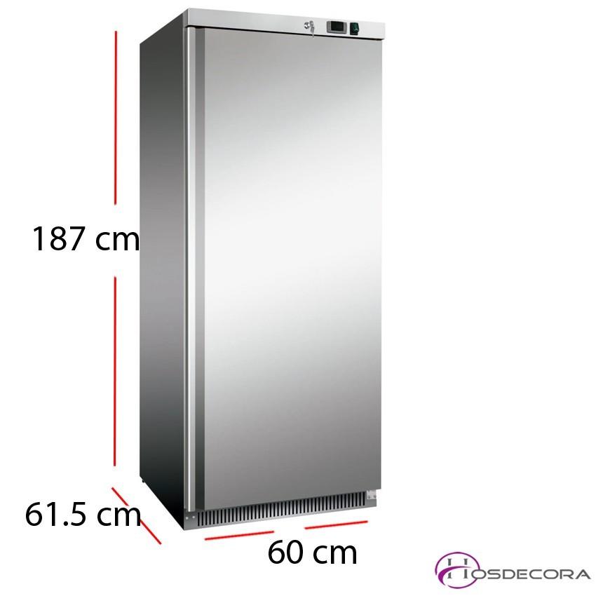 Armario refrigerado acero inox de 360 litros 185W
