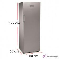 Congelador de acero inoxidable 211W - 350 litros