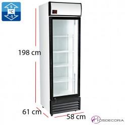 Refrigerador Subcero Puerta Cristal 360 L - 300 W
