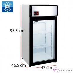 Refrigerador mini Subcero Puerta Cristal 80L - 180 W
