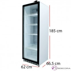 Armario expositor termostato digital 400 L - 300 W