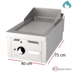 Fri-top para bar 400x750 palastro acero 15 mm espesor.