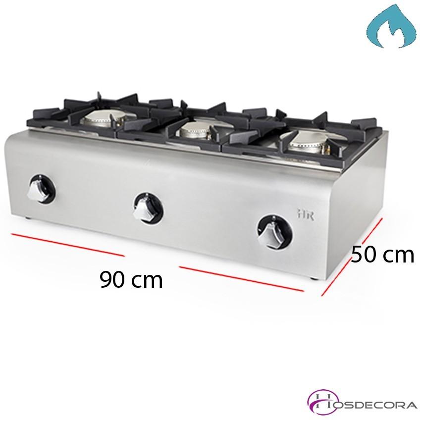 Quemador Hostelería a gas 900X500x292 - 15.5 Kw