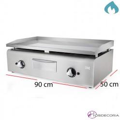 Plancha industrial RECTIFICADA  900X500 - 15mm espesor.