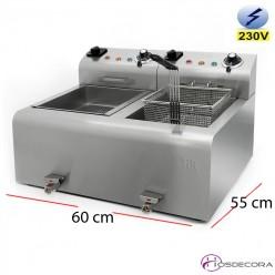 Freidora ECO 8L. 3.5 Kw. Monofásica