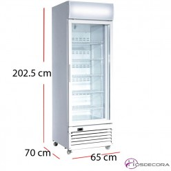 Expositor congelación 360 litros 700W