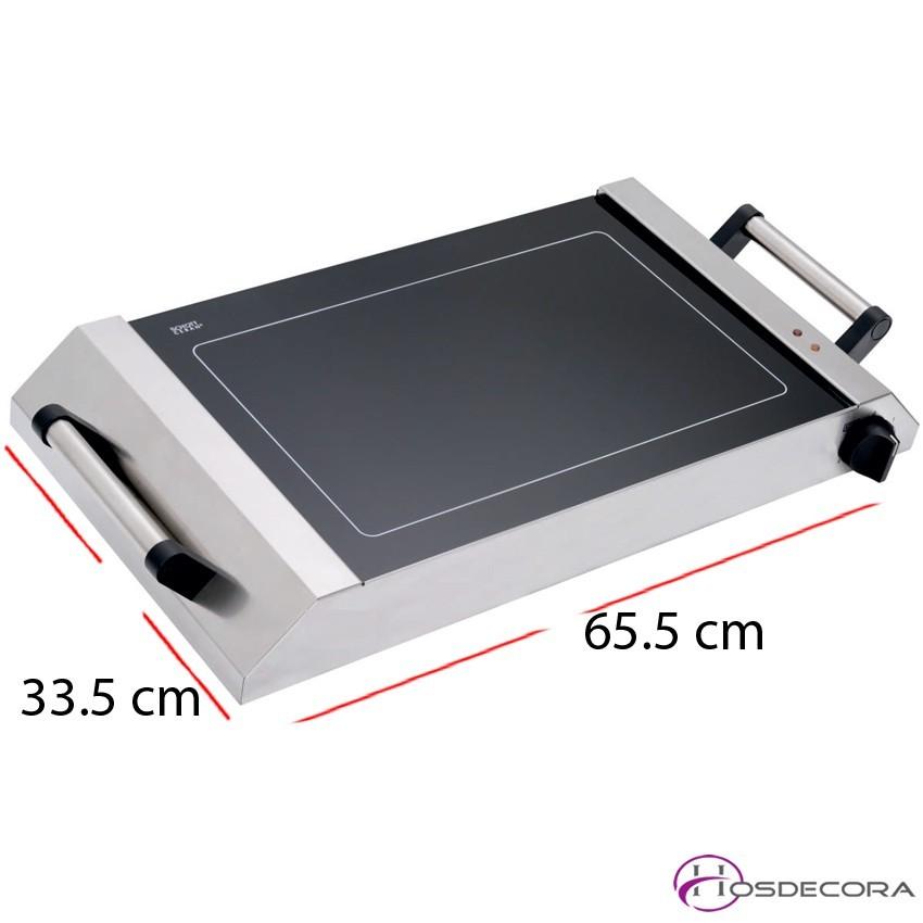 Plancha eléctrica vitrocerámica 1500 W