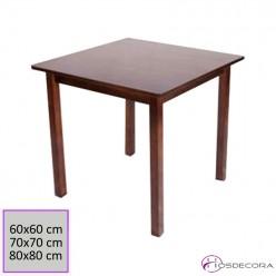 Mesa bar de madera de pino cuadrada 77-3020M-C