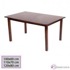 Mesa rectangular de mader de pino 77-3020-M-R