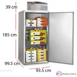 Cámara frigorífica de paneles 1300 litros