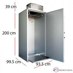 Armario frigorífico con ganchos 1400 litros