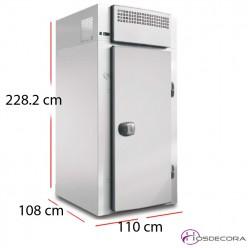 Cámara paneles mantenimiento congelados 1500 litros 940 W