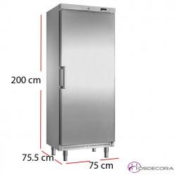 Armario congelador inox 500 litros 14 cestas - 400W