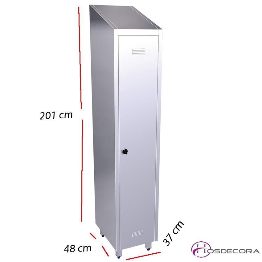 Armario de Acero 081412 Con 1 Puerta.