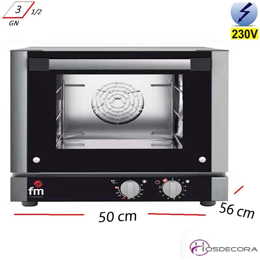 Horno Panadería 3 Bandejas GN 1/2 - 2250 W- RX-203