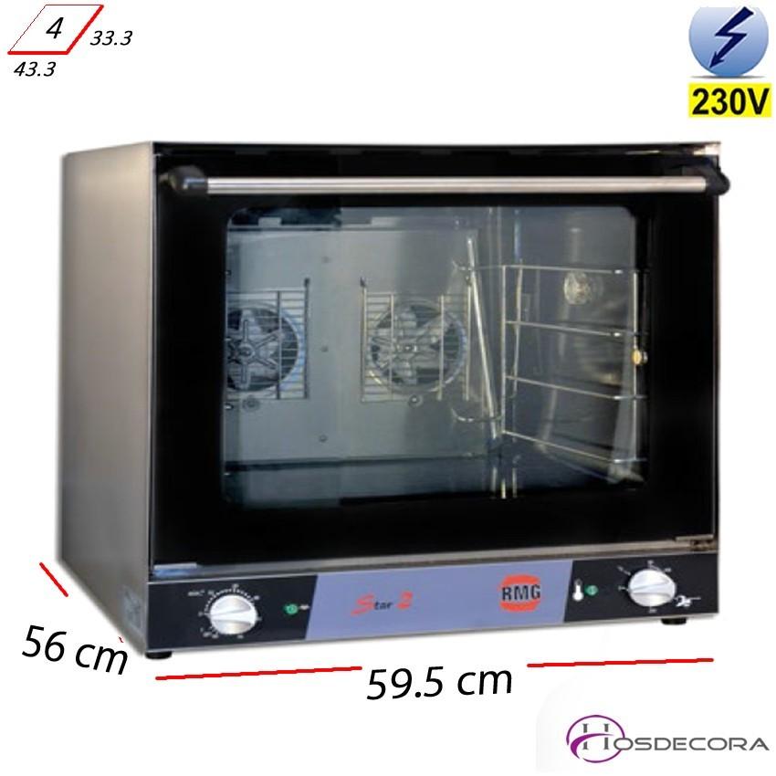 Horno Convector 4 bandejas 430x340 - 3.1 Kw