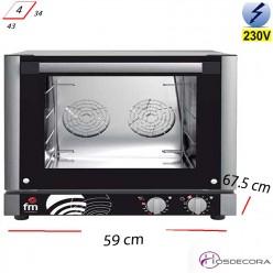 Horno Panadería 4 Bandejas 43x34- 3100 W- RX-304 propiedades