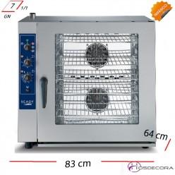 Horno mixto vapor directo 7 GN1/1 - 12.5kW TRIFÁSICO