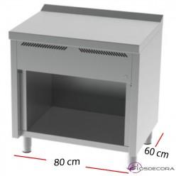 Cocina de Gas Fondo 60- 6 Fuegos 6 y 3.5 KW