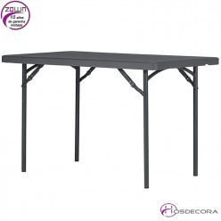 Mesa plegable capacidad 4/per.  121,9 x 76 cm - XL120