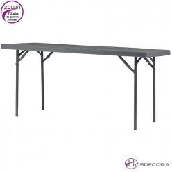 Mesa plegable capacidad 6/per.  183 x 75,2 cm - XL180