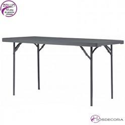 Mesa plegable capacidad 6/per. 182,9 x 91,4 cm - XXL180