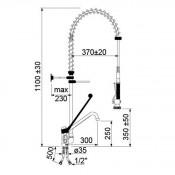 Grifo de ducha dos aguas  y grifo corto  34-548833
