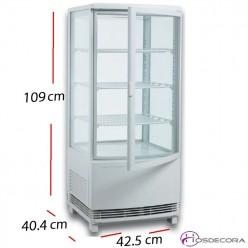 Expositor de tartas refrigerado 400 L 480 W.