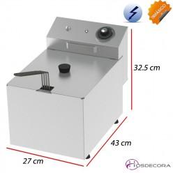Freidora eléctrica de sobremesa 8 Litros - 6 KW