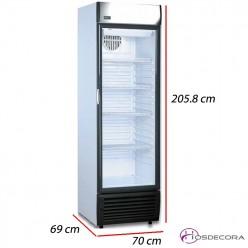 Armario frío con 1 Puerta cristal - 500 L- 420 W