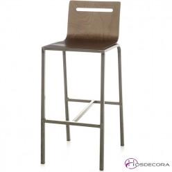 Taburete MORENILLA asiento de madera