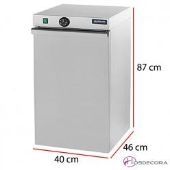 Armario simple calienta-platos 60 unidades