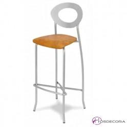Taburete con asiento tapizado - ALCONERA