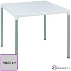 Mesa de polipropileno 70 x 70 cm - ALBARES