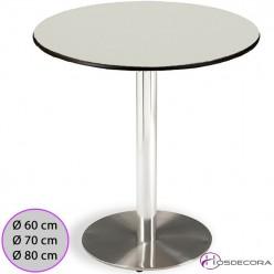 Mesa redonda con tablero Compact - VALSECA
